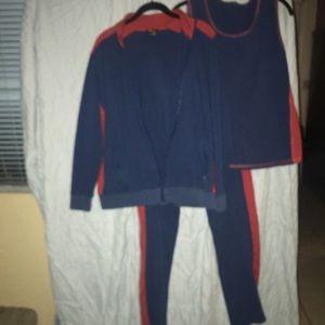 3 piece jogging suit
